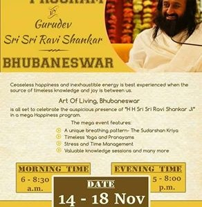 Mega Happiness Program : Experience the wave of Happiness with Art of Living's Sri Sri Special in the city