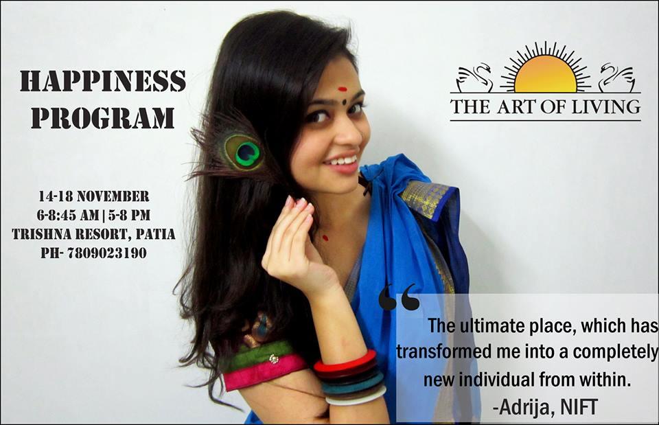 Happiness program with Sri Sri bhubaneswar buzz 3