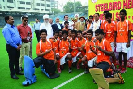 Rourkela boys clinch title of Nehru sub Junior Hockey tournament defeating Bhopal in delhi