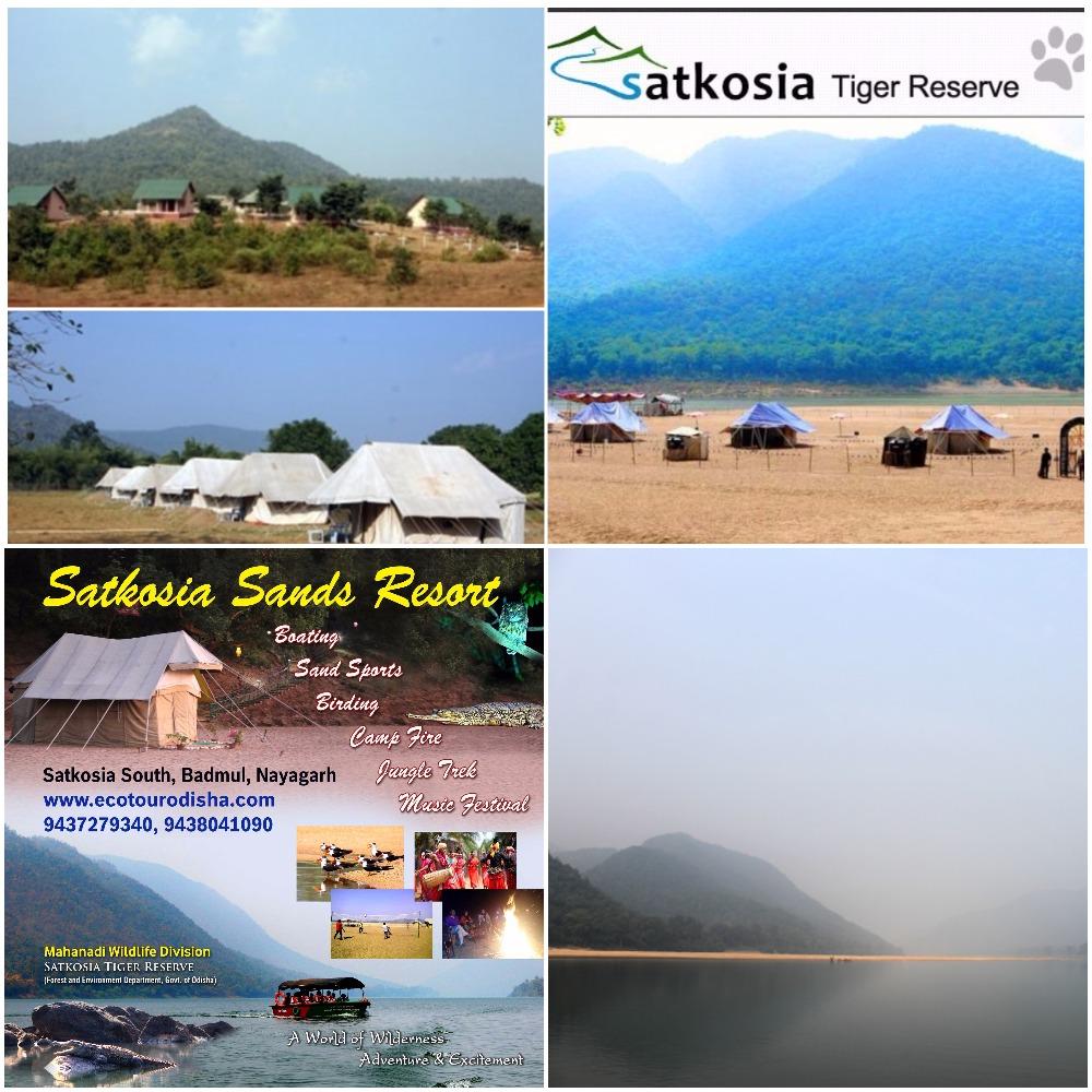 Satkosia Sandbar resort bhubaneswarbuzz