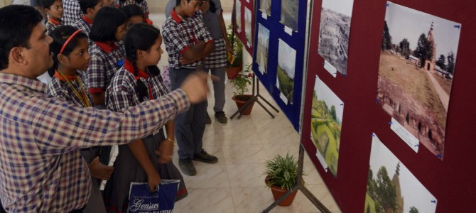 Archeological Survey of India exhibition in KV1 bhubaneswar to generate kid's interest on historical monuments