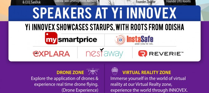 Yi INNOVEX : Largest Startup Event ever happening along with Make In Odisha Conclave By Young Indians (Yi)