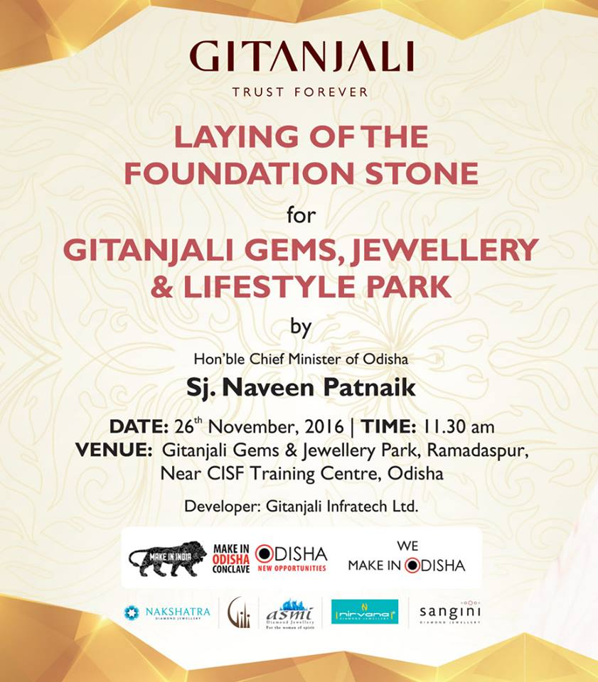 gitanjali jewels foundation stone