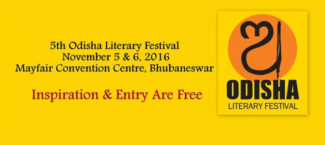 Odisha Literary Festival 2016 is back in Bhubaneswar with amazing lineup of speakers