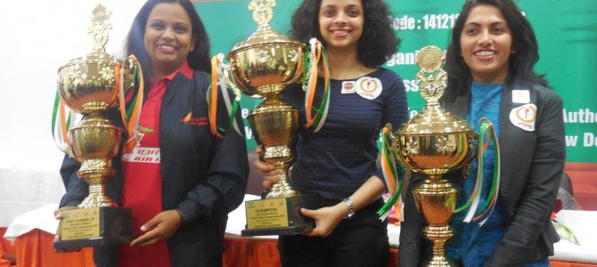 Padmini Rout of Odisha scores a hat-trick in National Women Premier Chess Championship