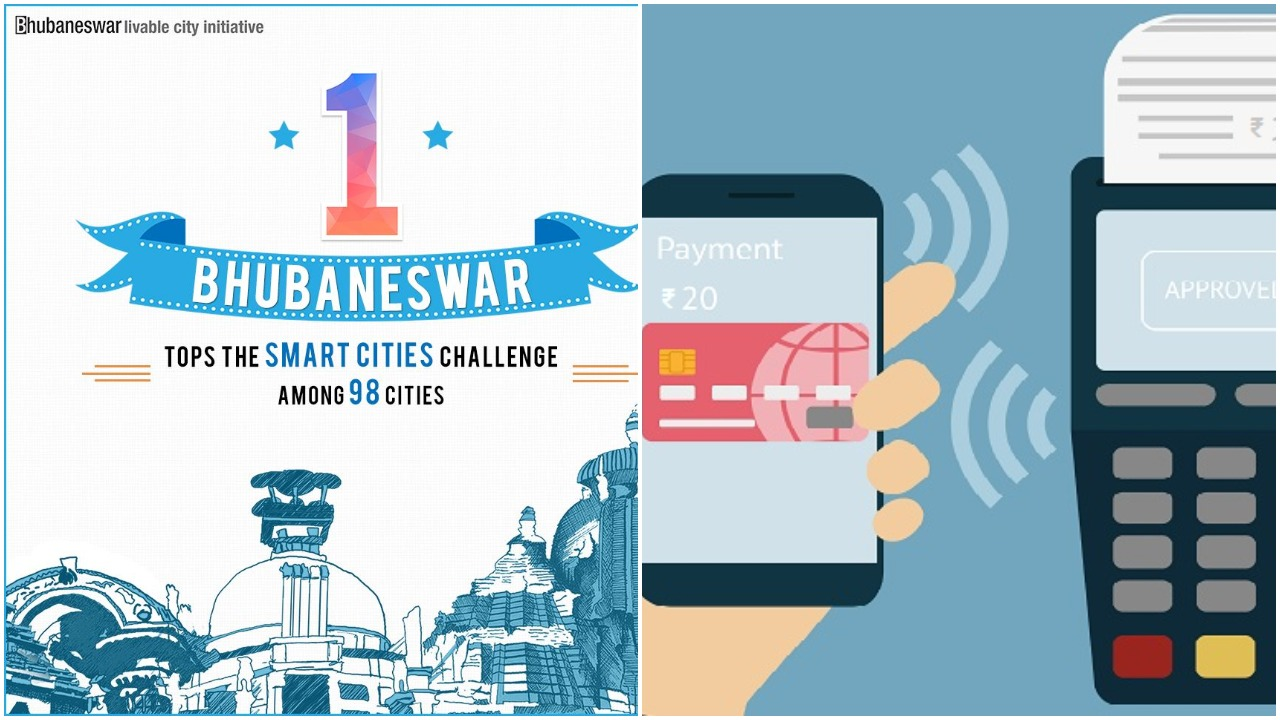 Bhubaneswar smart city cashless