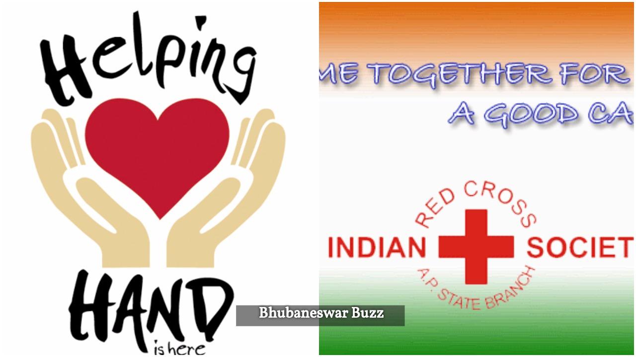 Helping hand redcross sambalpur