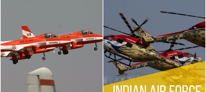 Indian Airforce Teams Hawk (Suryan Kiran) & Helicopters (Sarang) to rock Cuttack Sky for Mega Air Show