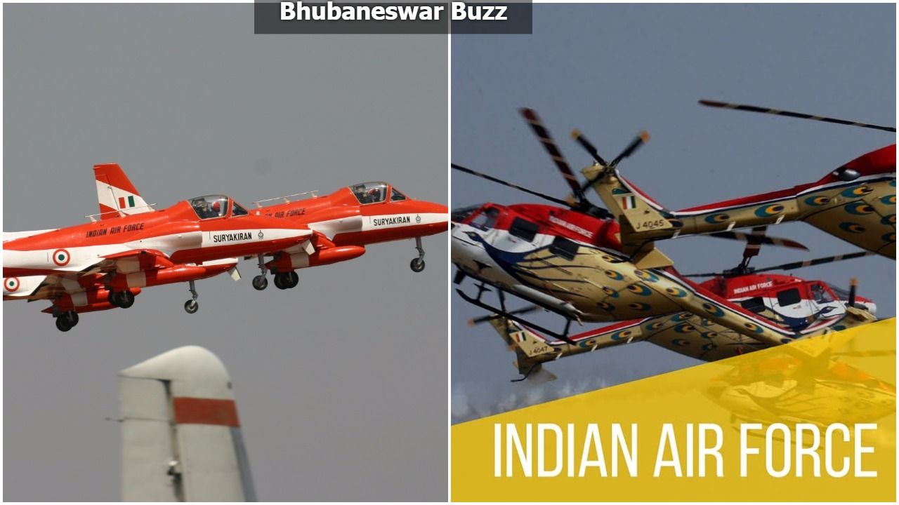 Indian airforce air show cuttack odisha bbsrbuzz