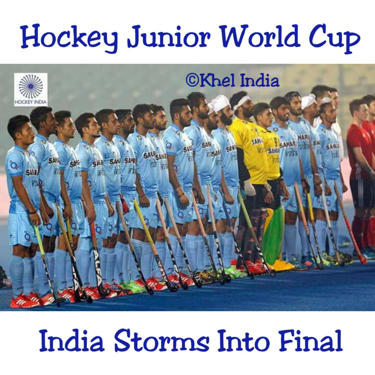 Junior hockey final 1