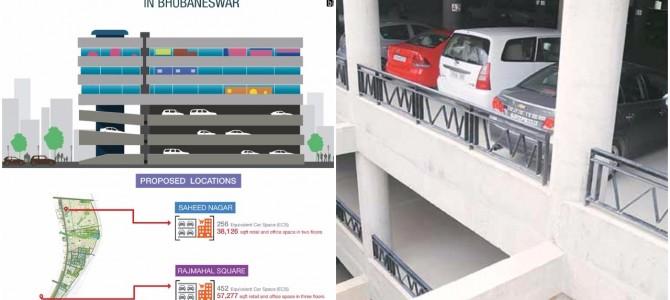 Bhubaneswar Smart city Limited floats tender for Multilevel car parking lot at Rajmahal and Saheednagar