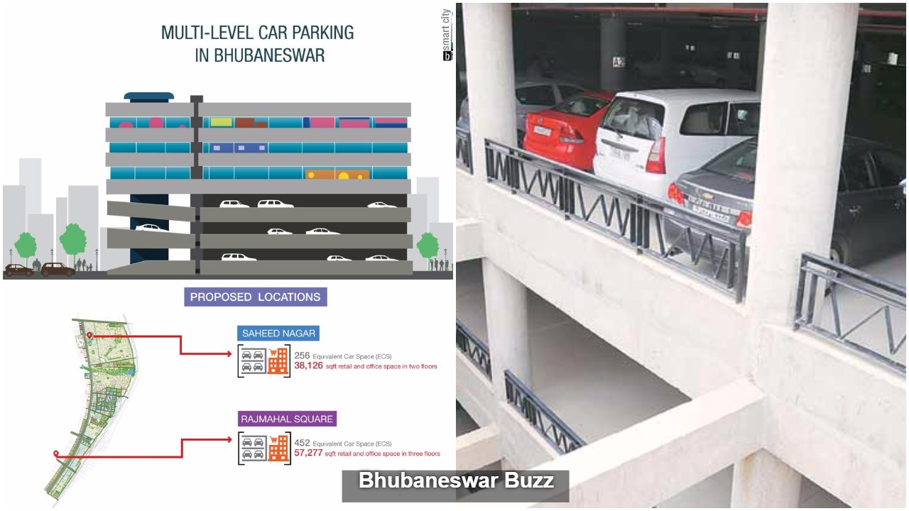 Multilevel car parking coming up in bhubaneswar buzz