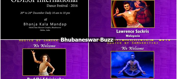 Odissi Dancers from all over world assembled in Bhubaneswar for Odissi International festival