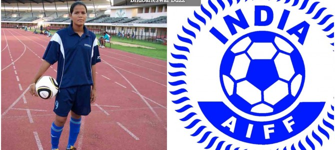 Sasmita Malik of Odisha chosen India's best Woman Footballer of the year 2016
