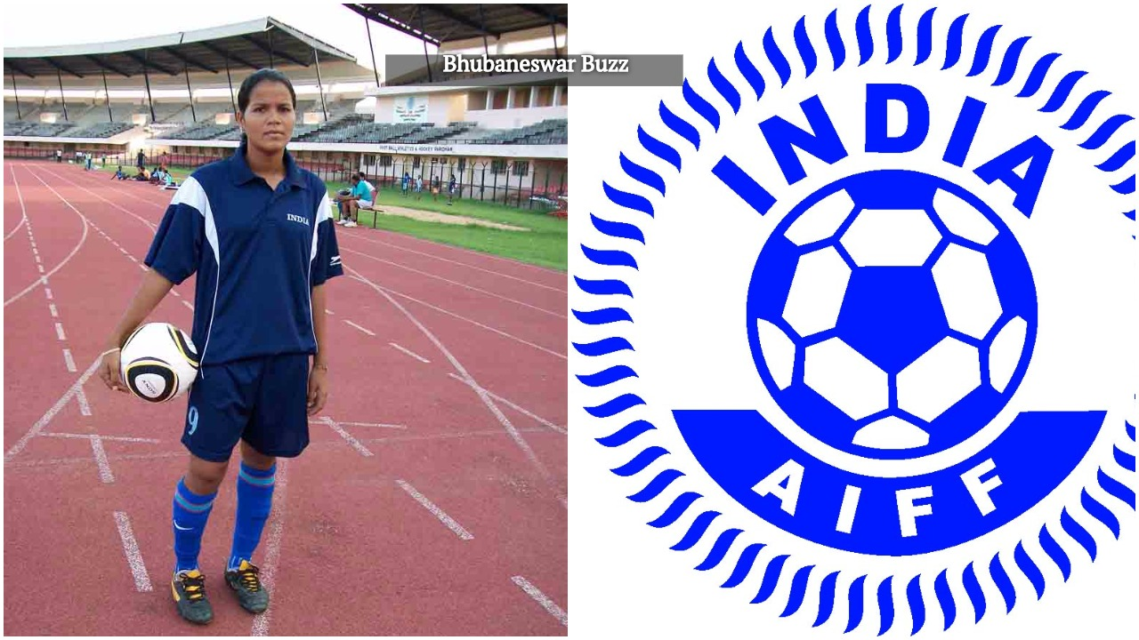 Sasmita malik of odisha woman footballer of india
