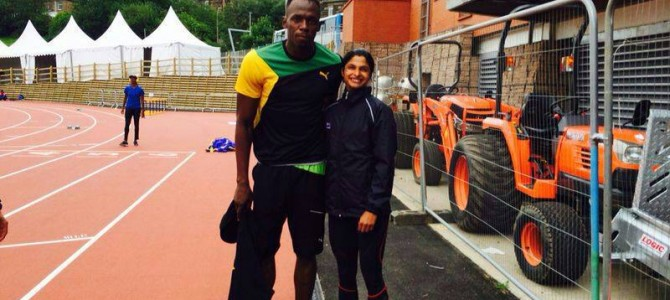 Odisha sprinter Srabani Nanda getting trained at Jamaica country of Ussain Bolt