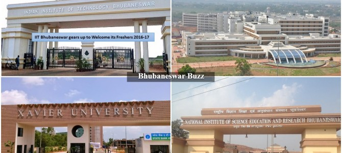 Bhubaneswar as emerging Education Hub : Home to a bunch of reputed colleges and research institutes
