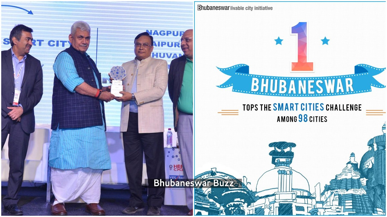 bhubaneswar business world smart city award