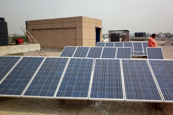 rooftop solar panels in govt offices