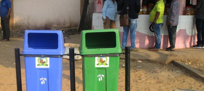 Finally Bhubaneswar gets serious about Waste Segregation : 1000 bins by Feb 1 around the city
