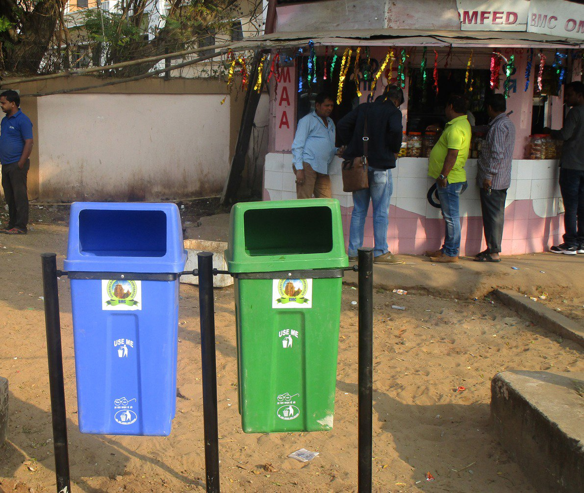 BMc Waste bins bhubaneswar buzz