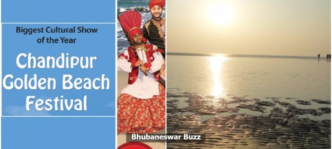 Chandipur Beach Festival all set to start in the golden beach famous in the world for receding water