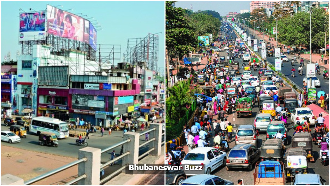 Hoardings in smart city bhubaneswar buzz