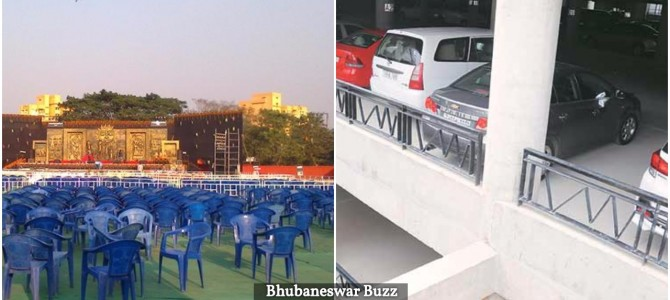 Janata Maidan and Exhibition Ground in the city to have Multilevel Car parking and Fire safety measures