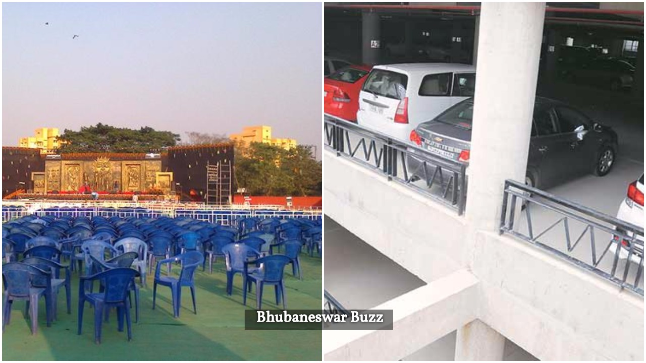 Janta maidan multilevel parking bbsrbuzz