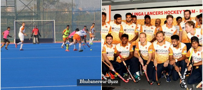Odisha based Kalinga Lancers get ready for this season with Moritz Fuerste of Germany leading the team