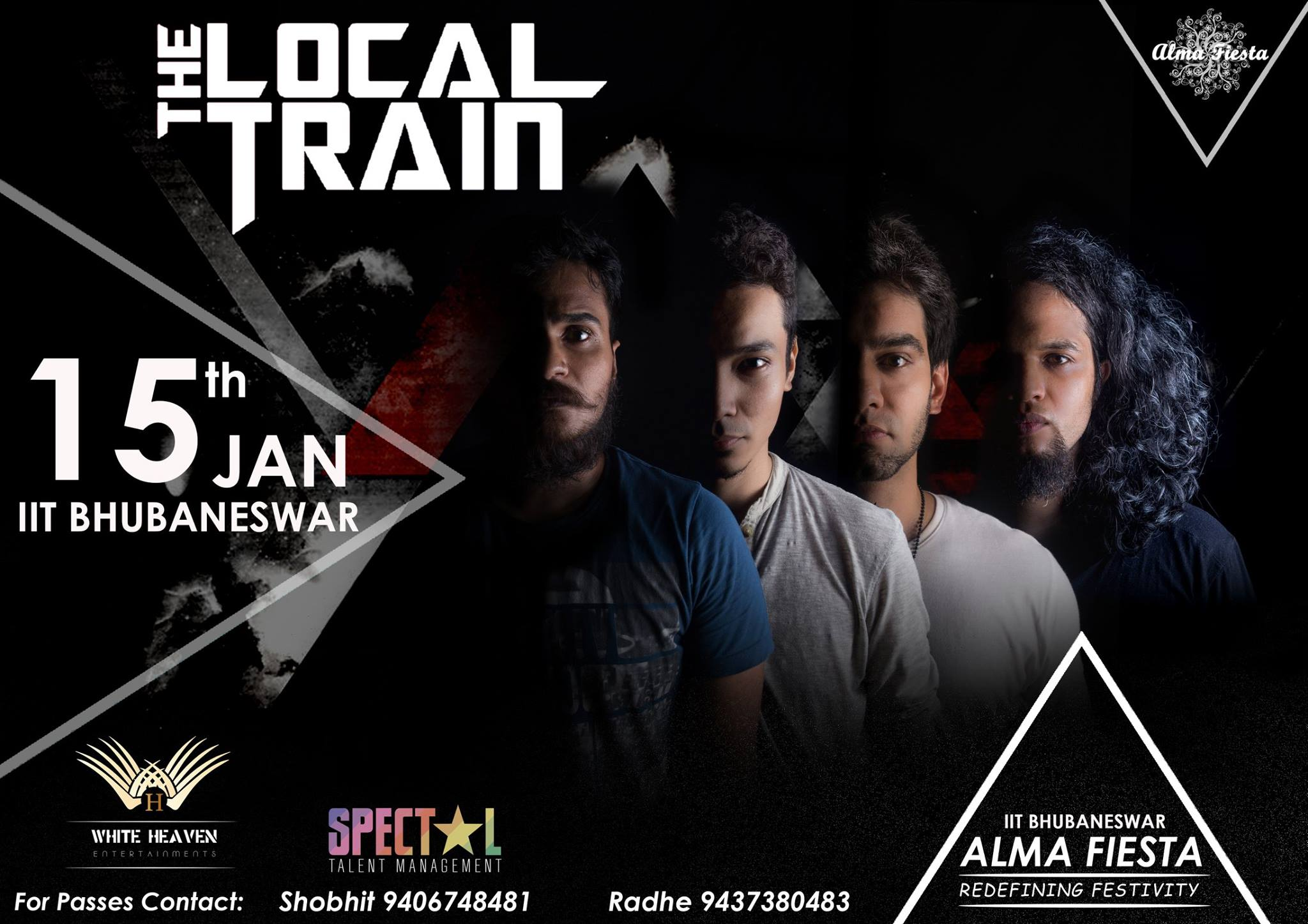 Local Train band IIT bhubaneswar buzz