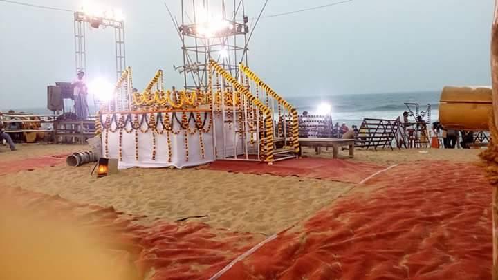 Mahodadhi arati in puri beach bhubaneswar buzz 2