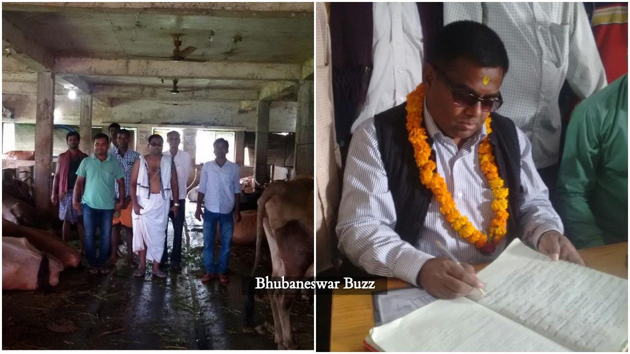 Nihar Ranjan behura IIT kharagpur to odisha panchayat