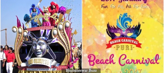 Inspired from Goa Carnival, Puri beach Carnival all set to start from January 20-26