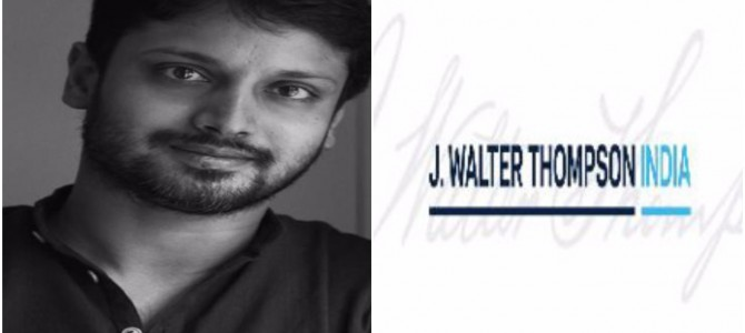Awesome to see Sambit Mohanty join JWT India as national creative director