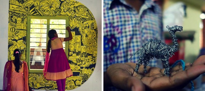This National Institute of Design Alumnus Left High Paying Job To Help Tribal Kids in Odisha