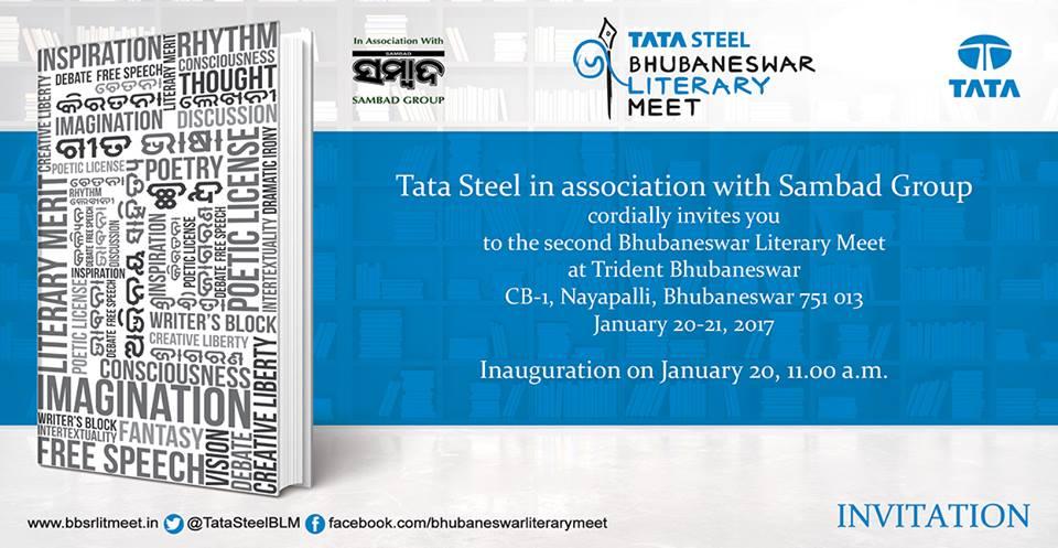 Tata steel bhubaneswar literary meet bbsrbuzz 2017