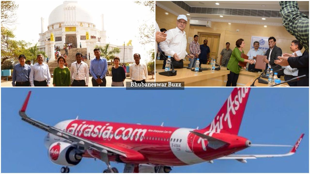 Air Asia Mou odisha bhubaneswar buzz