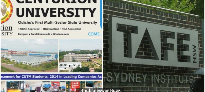 Centurion University Bhubaneswar to collaborate with TAFE in New South Wales Australia