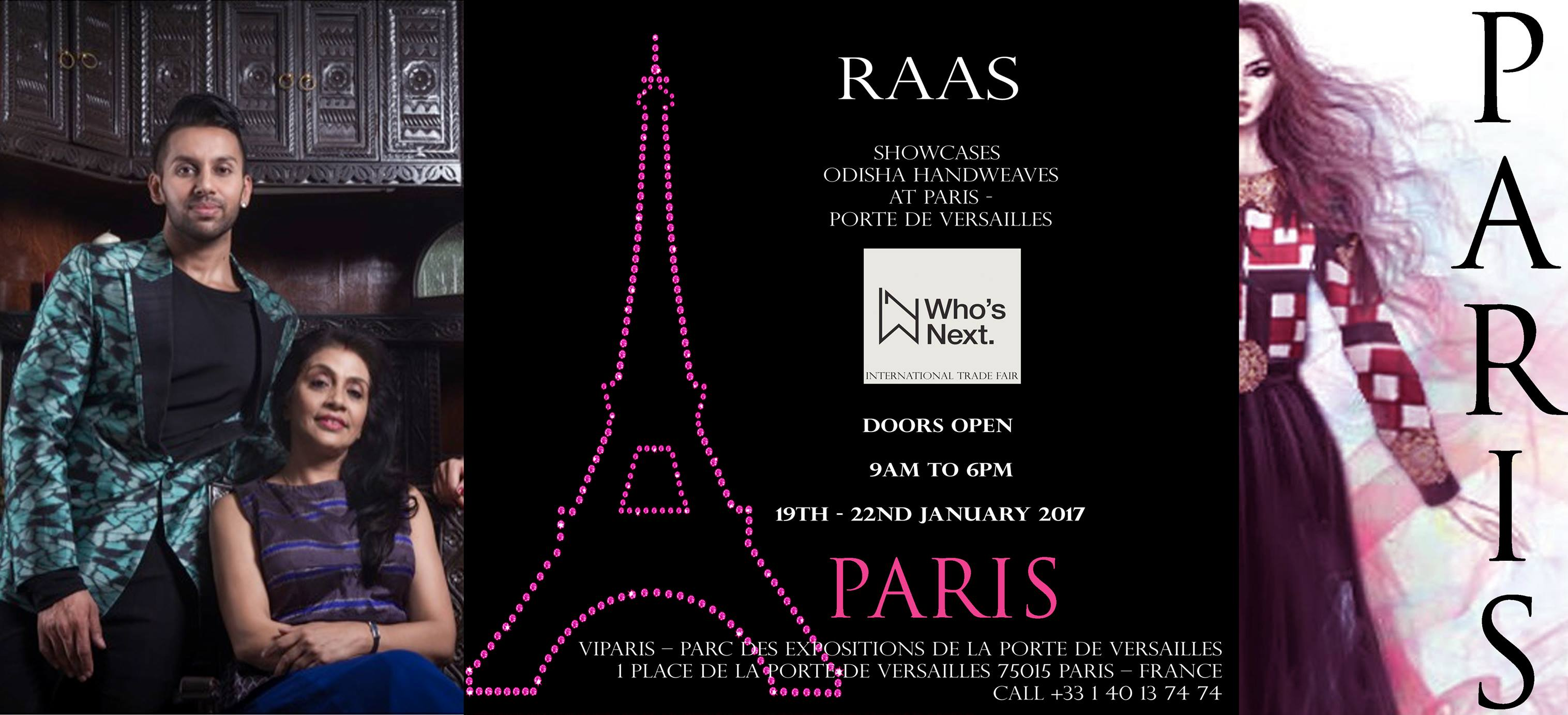 Raas odisha fashion label in paris bbsrbuzz (3)