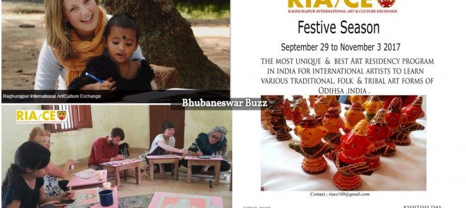 Raghurajpur International Art and Culture exchange program announces dates for Residency in 2017