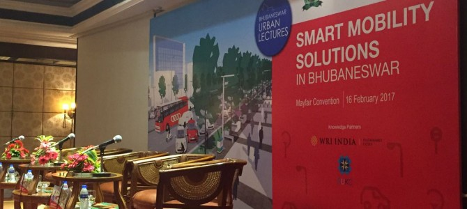 One Day BDA workshop on Smart Mobility Solutions in Bhubaneswar happening today