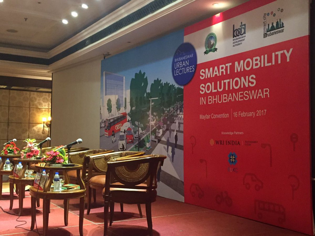 Smart mobility bda bhubaneswar buzz event