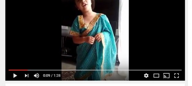Don't miss this beautiful rendition of Bande Utkala Janani by Sushreeya based in Chicago