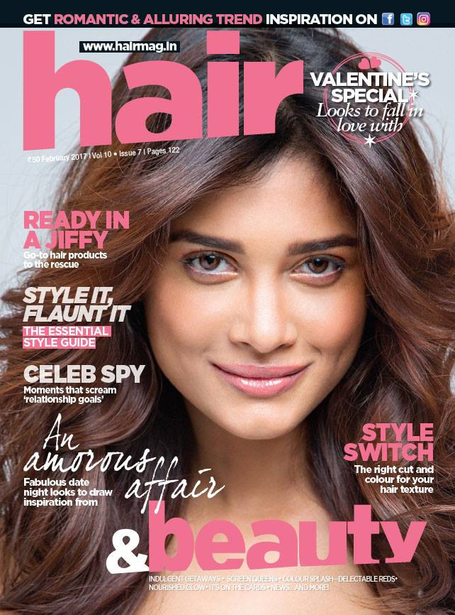 Sushrii Shreya mishra Hair magazine