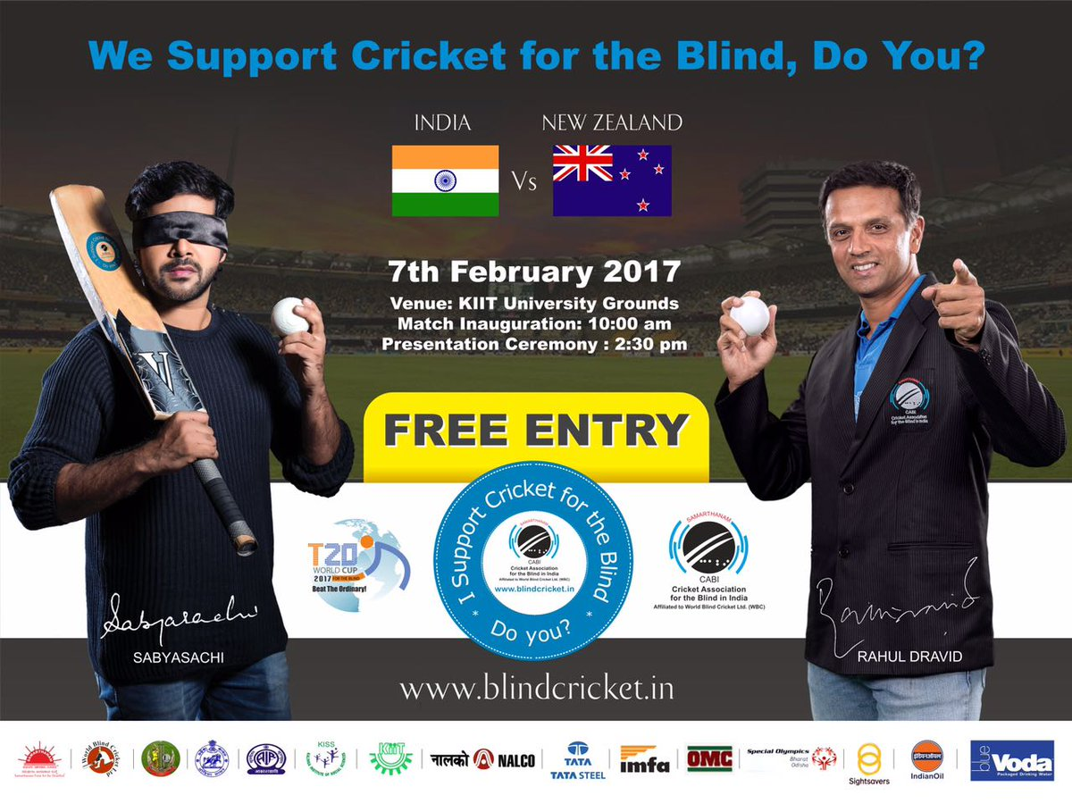 blind cricket world cup T20 bhubaneswar buzz 2