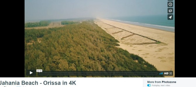 Don't miss this awesome 4k Aerial Video of Jahania Beach in Odisha, you may start planning after watching this