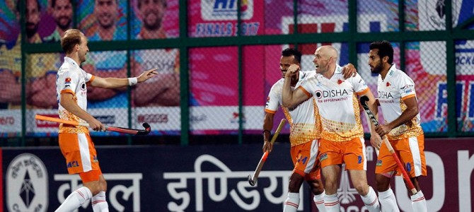 Yay Kalinga Lancers win the Hockey India League Finals 2017 defeating Dabang Mumbai