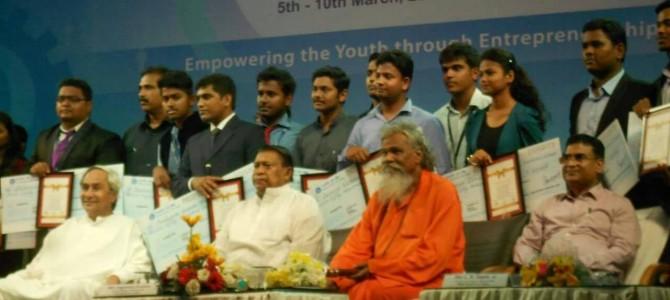 Idea & Innovation Cell, VSSUT Burla wins Odisha youth Innovation award