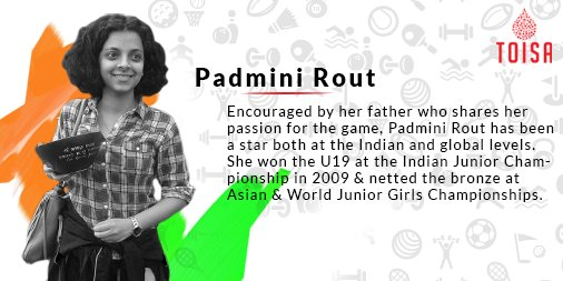 Do vote for Padmini Rout of Odisha in Chess Category for TOI Awards #CelebrateOurChamps